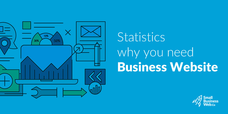 Statistics that prove why small businesses need a professional website