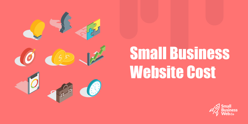 small business website cost
