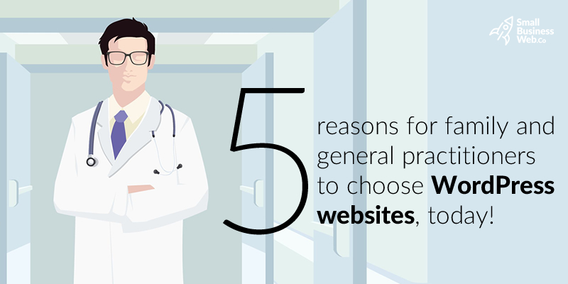 doctors wordpress website