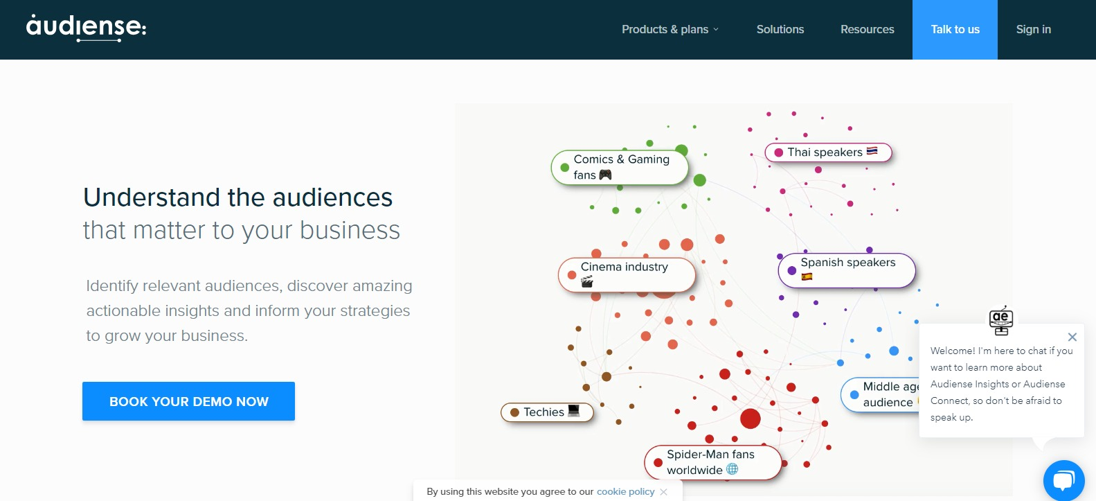 Audiense - Social media digital marketing tool