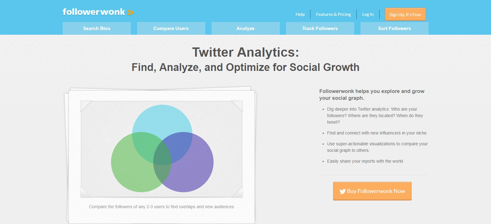 Followerwonk - Tools for Twitter Analytics Bio Search