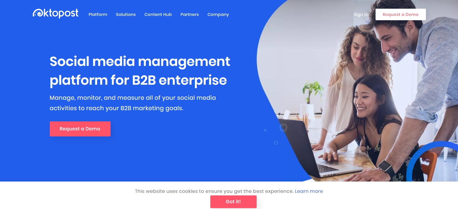 Oktopost - Social Media Management Platform for B2B Enterprises