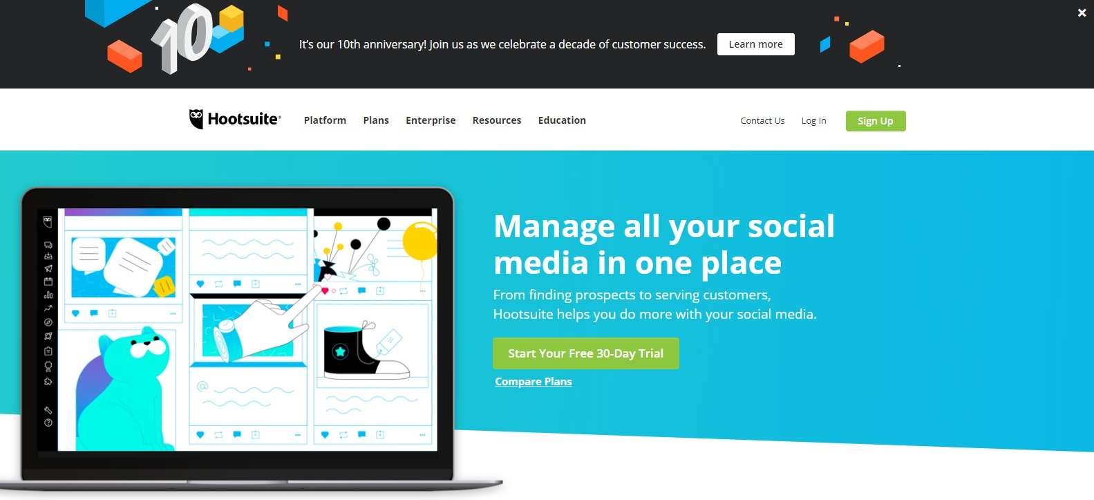 Social Media Marketing - Hootsuite