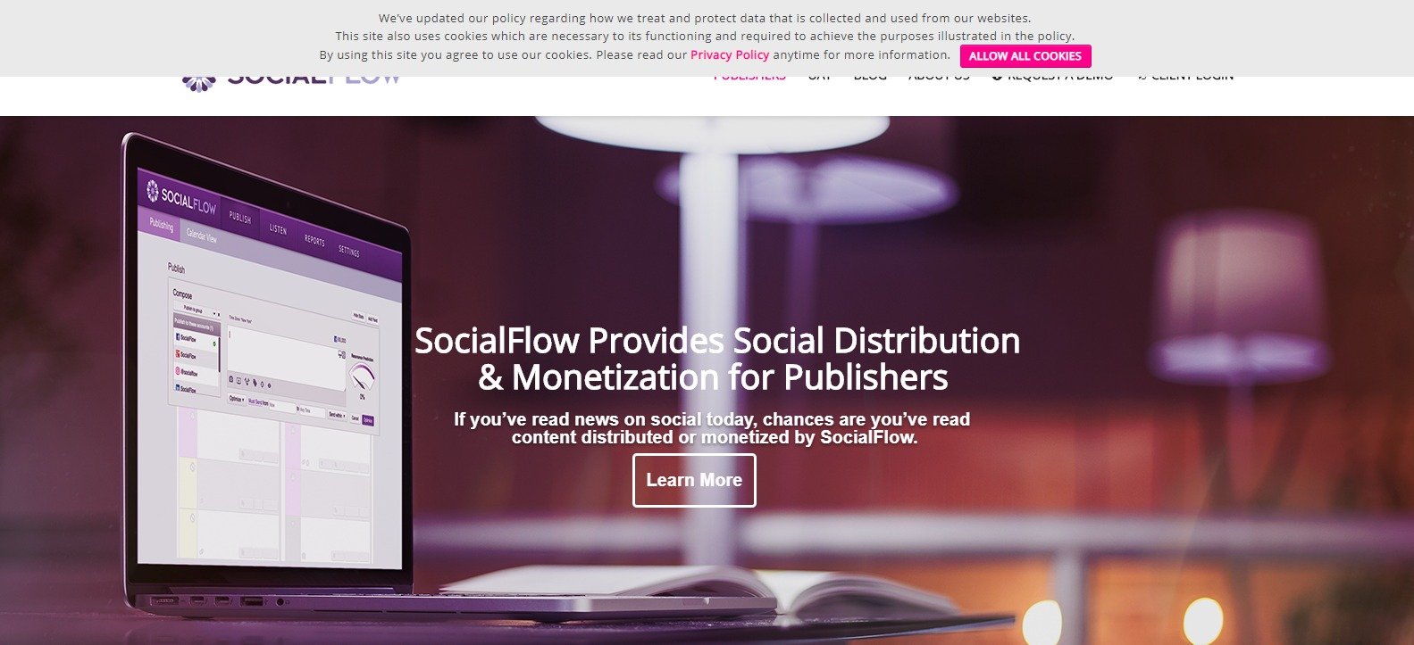 SocialFlow Social Media Solutions for Media Companies