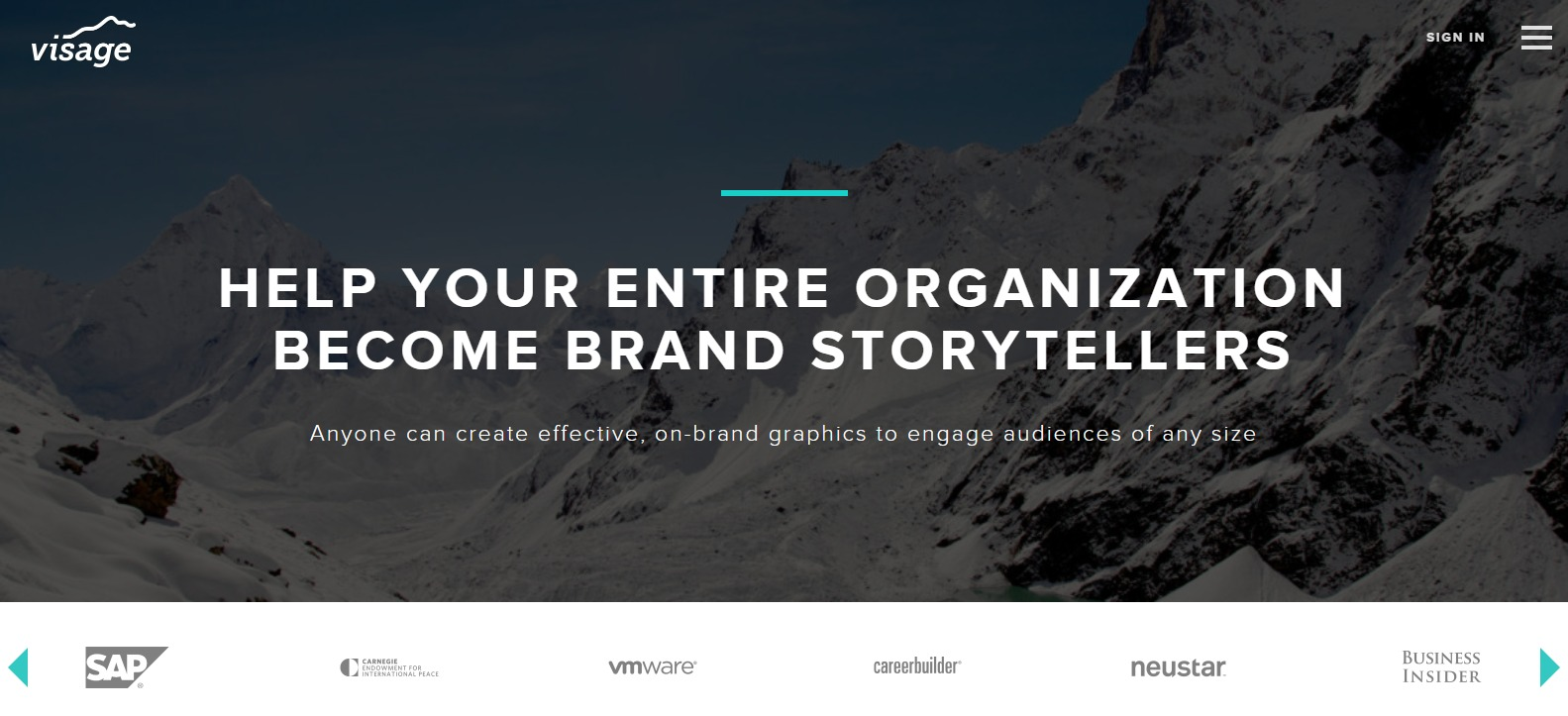 Visage co Visual Content Creation Made Simple