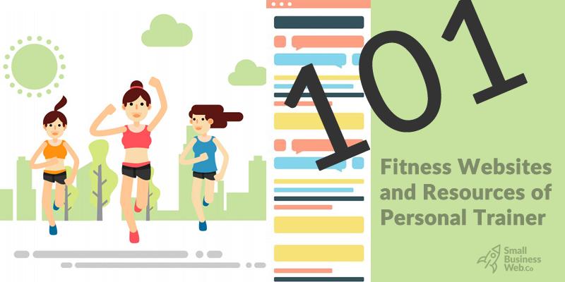 101 fitness website ideas & inspirations