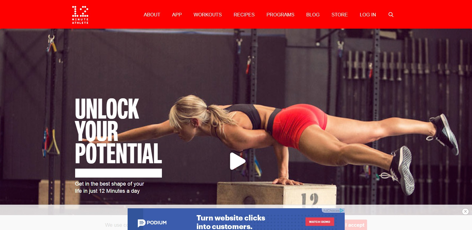 12 Minute Athlete physical trainers
