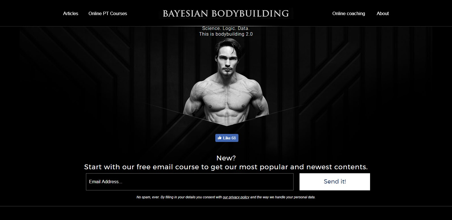 Bayesian Bodybuilding personal trainers