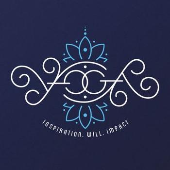 Yoga trainer logo design