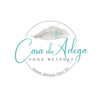 Casa da Adega Yoga trainer logo design