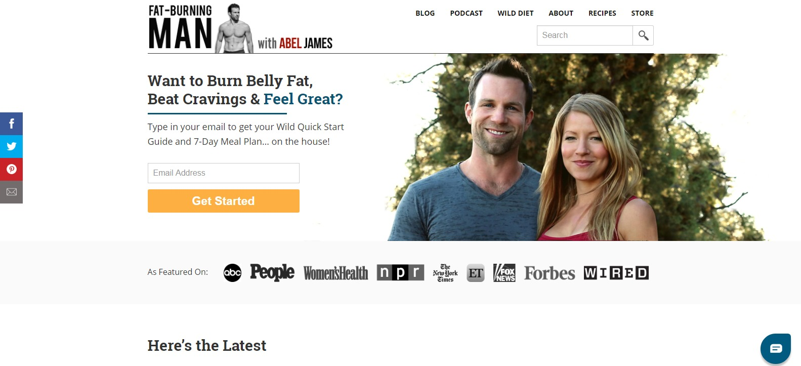 Fat Burning Man fitness trainers