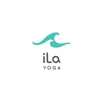 IlQ yoga trainer logo design