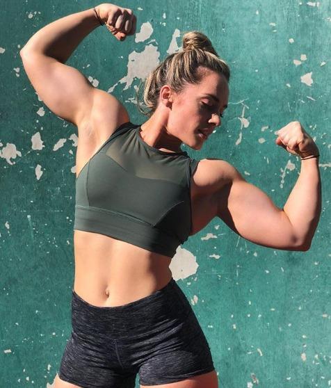 Meg Gallagher - Women fitness model