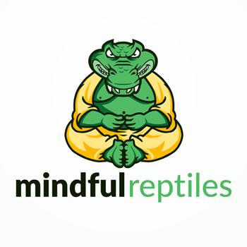 Mindful yoga trainer logo design