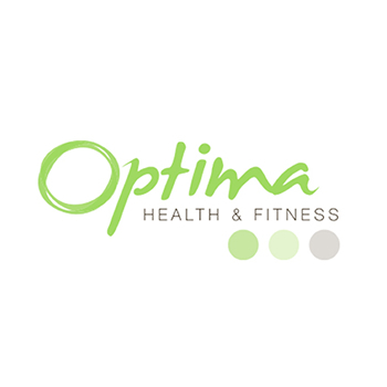Optima fitness trainer logo design