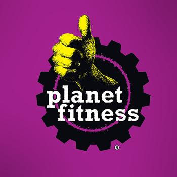 Planet fitness trainer logo design