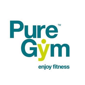 Pure Gym trainer logo design
