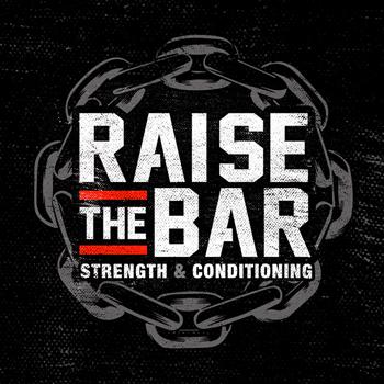 Raise Bar Gym trainer logo design