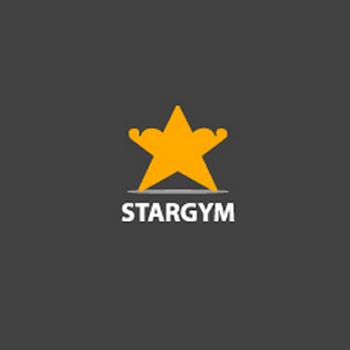 Star Gym trainer logo design