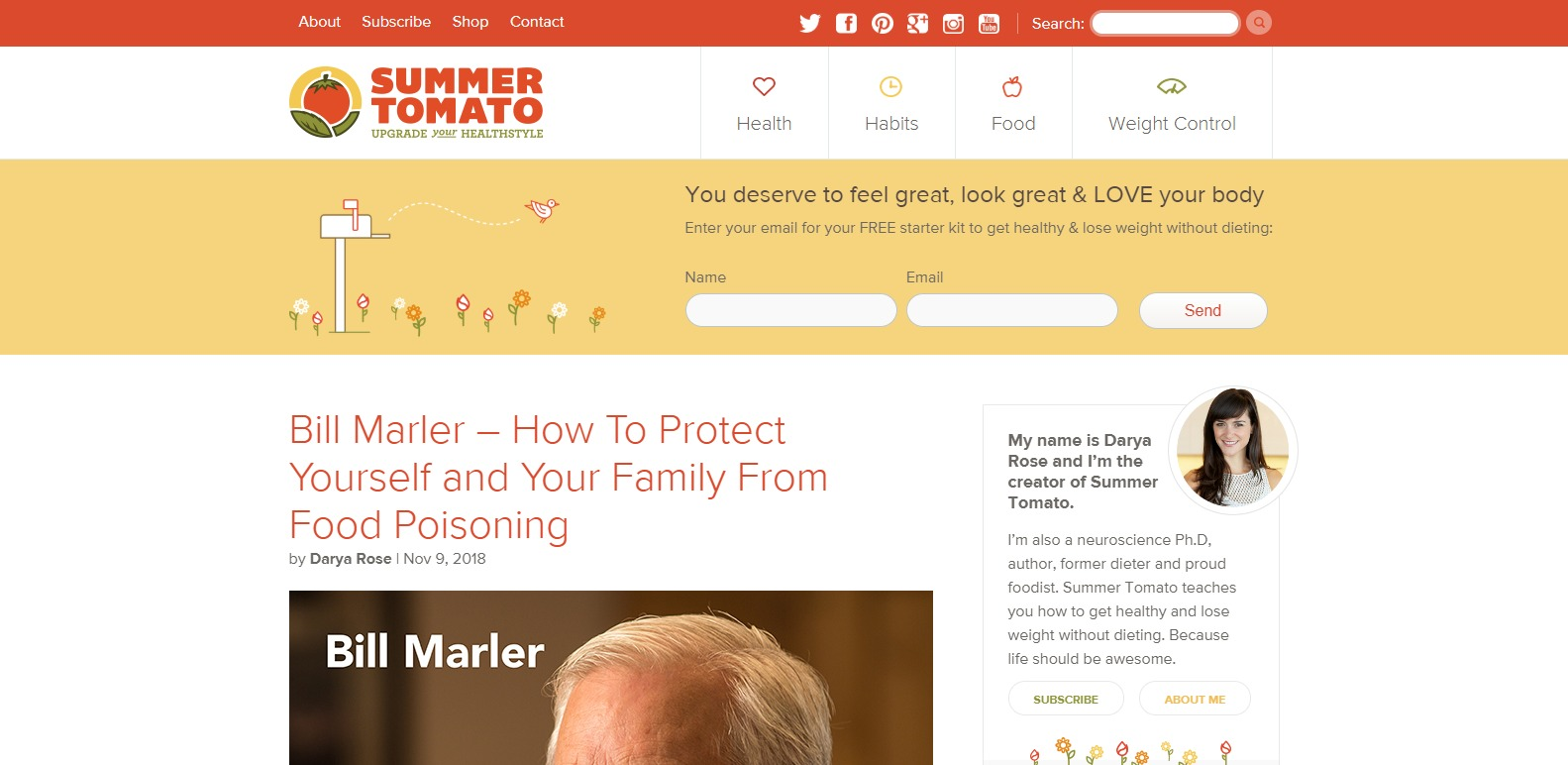 Summer Tomato fitness experts
