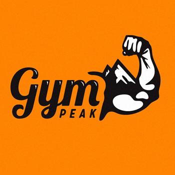 Gym peak personal trainer logo design