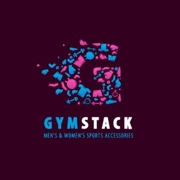 Gym stack personal trainer logo design