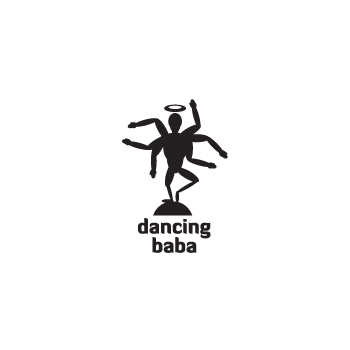 Dancing baba fitness trainer logo design