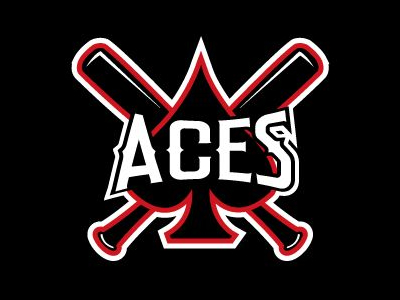 Aces BaseBall logo designs