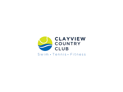 Clay view Tennis logo designsClay view Tennis logo designsClay view Tennis logo designs