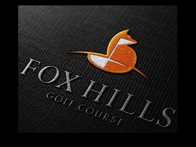 Fox hills Golf logo designs