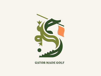 Gator Golf logo designs
