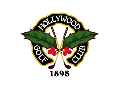 Hollywood Golf logo designs
