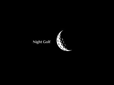 NIght golf Golf logo designs