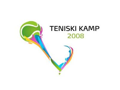Tenski kamp Tennis logo designs