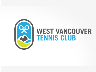 West vancouver Tennis logo designs