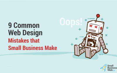 9 Common Web Design Mistakes that Small Business Make
