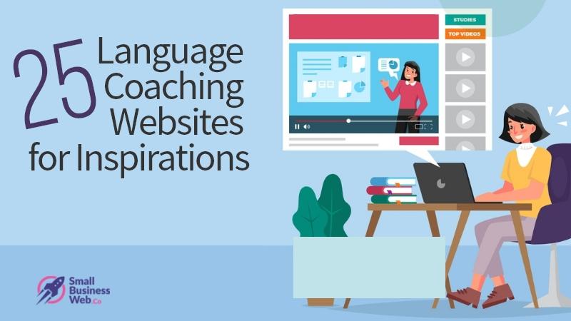 25 Language Coaching Website Design Inspiration
